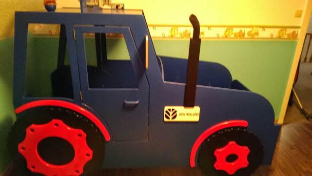 Kinderbett selber bauen traktor  Traktor Bett ~ Beste Bildideen zu Hause Design
