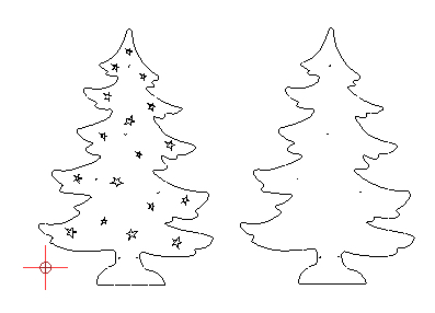 laubsägevorlagen weihnachten